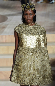 Valentino style gold
