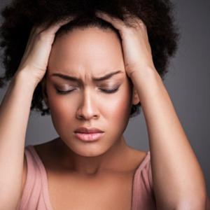 women stress