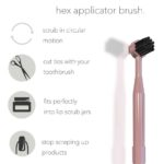 Lip scrub brush