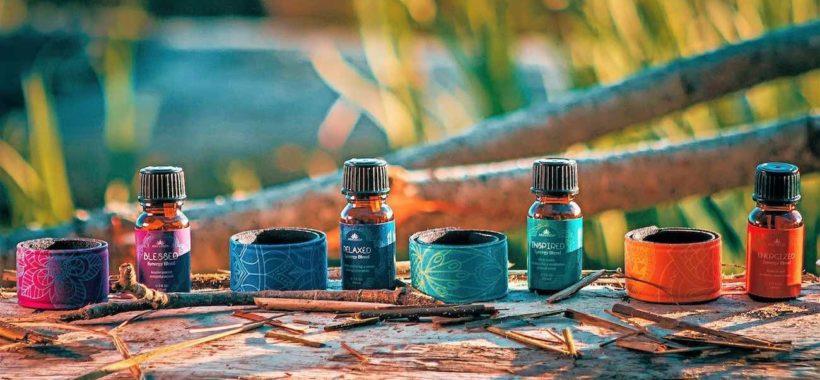 Aromatherapy & Color Therapy Slap bracelet