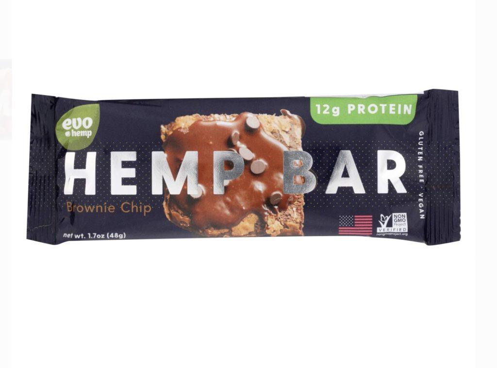 Evo Hemp Protein Bar Power