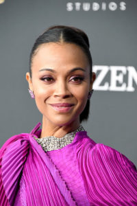 Zoe Saldana, Fab Red Carpet Jewels by Jared Lehr